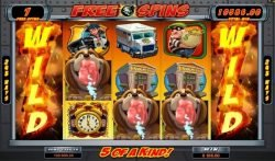 Bust the Bank casino slot - free spins