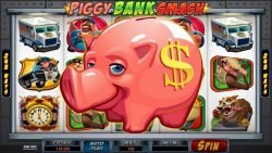 Casino slot game Bust the Bank - Piggy Bank