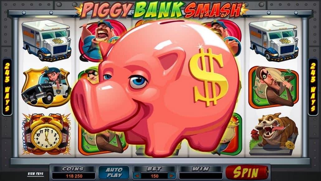 Bust the Bank Slot Machine