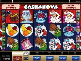 free online casino game slot Cashanova