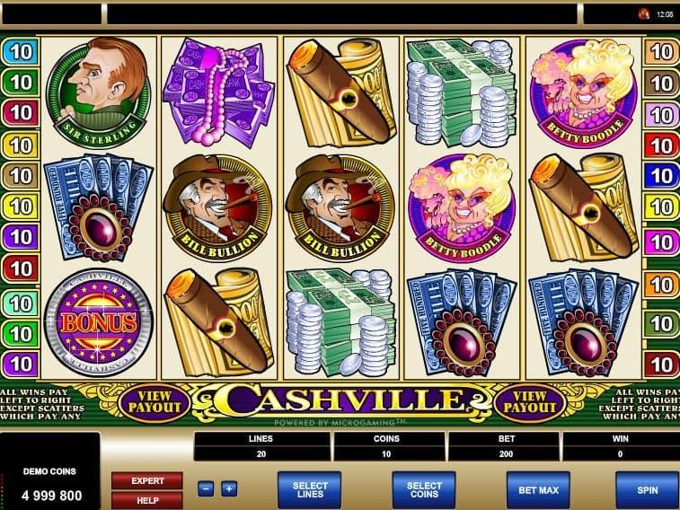 Cashville free online casino game slot