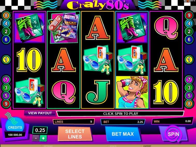 Play free online game Crazy 80´s