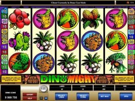 Casino game slot Dino Might