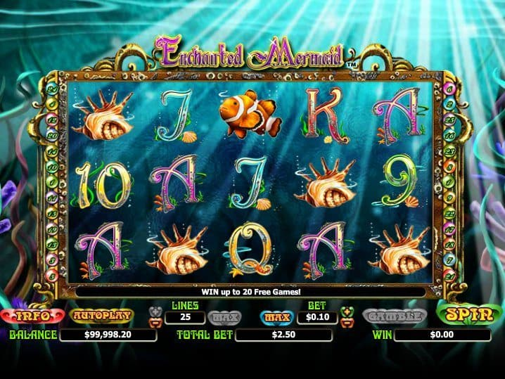 Mermaid Slot Machine Games