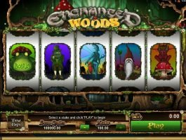 Free slot game Enchanted Woods