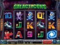 Casino slot machine Galacticons