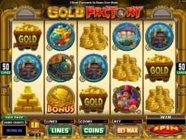 Play free online slot Gold Factory