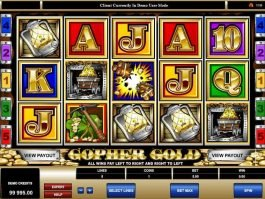play online free slot Gopher Gold