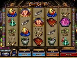 Casino game slot Great Griffin free online