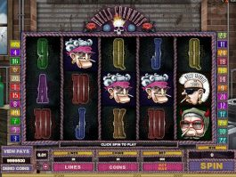 Slot machine Hells Grannies free online