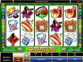 Free casino slot game Hot Shot by Microgaming