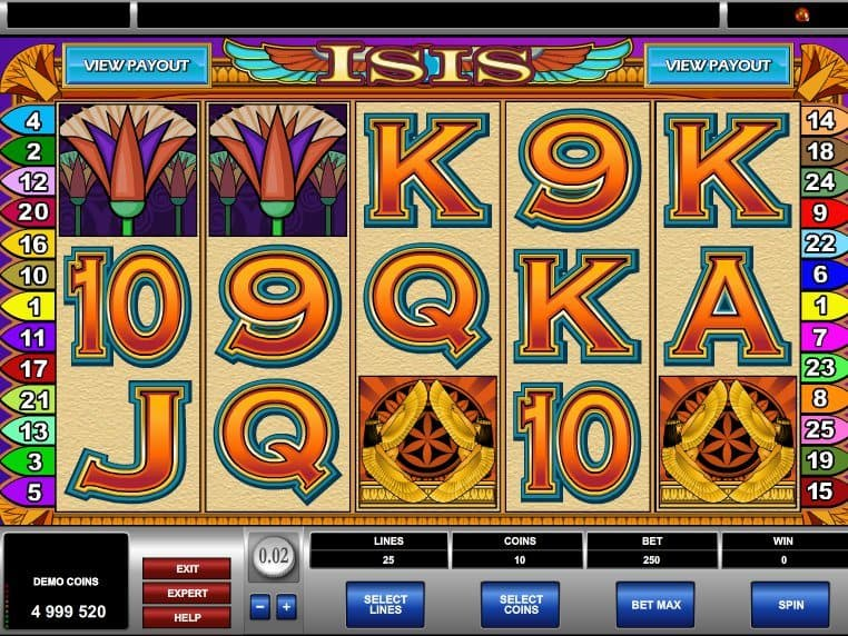 Isis online free slot machine