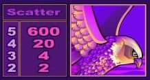 Scatter of free casino slot Isis