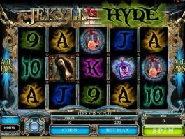 Free online casino game slot Jekyll and Hyde