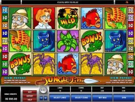 Casino slot machine Jungle Jim online free