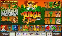 Tragamonedas gratis en línea Jungle Jim