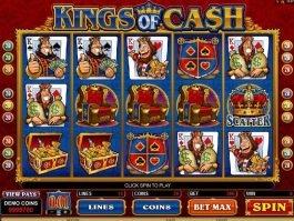 Kings of Cash online free slot machine