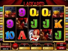 Free online casino game slot Lady in Red