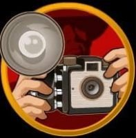 Camera as a scatter symbol in free slot Lady in Red