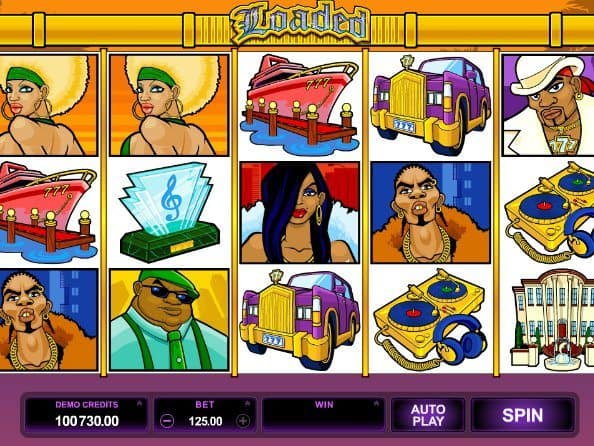 Casino game Loaded free online