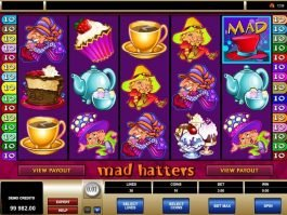 Slot machine Mad Hatters online free