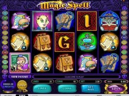 Magic Spell online free slot game