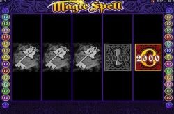 Bonus game of casino slot Magic Spell online