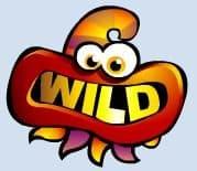 Wild symbol of casino slot machine Monster Mania