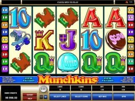 Slot machine game Munchkins free online