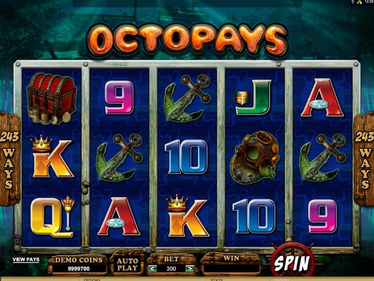 Free online casino slot Octopays
