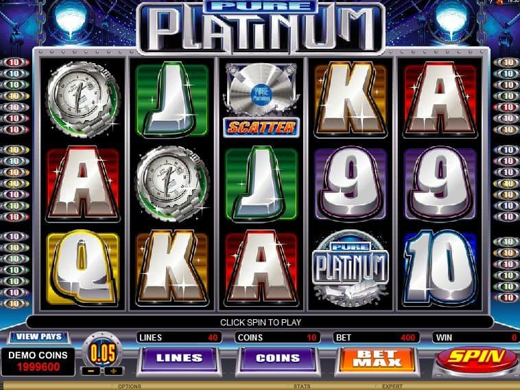 Play online free slot Pure Platinum