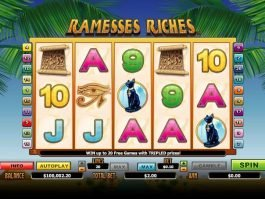 Ramesses Riches online free slot