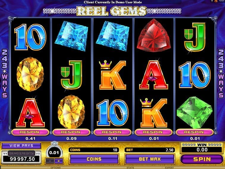 Free online game slot Reel Gems