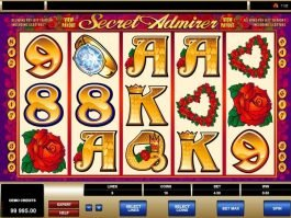 free online casino game slot Secret Admirer
