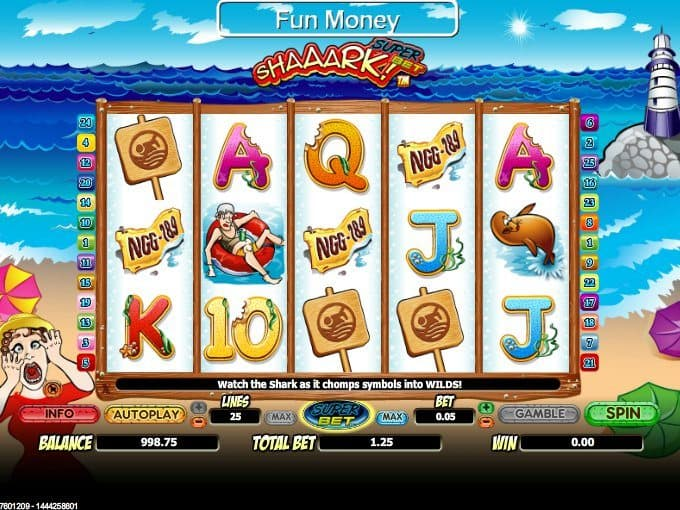 Shaaark! Super Bet free online casino game