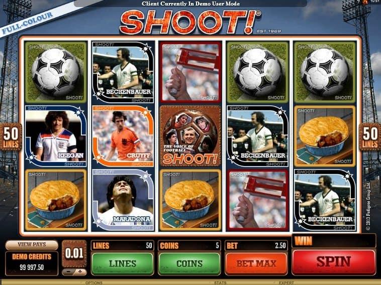 casino game slot machine Shoot!