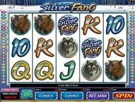 Casino game slot Silver Fang online free