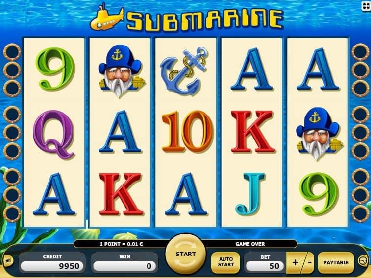 Play free online slot Submarine