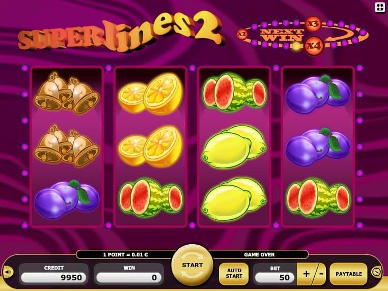 Superlines 2 free online slot game