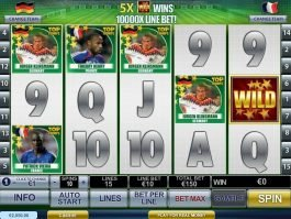 Top Trumps World Football Stars casino game slot