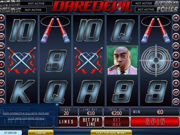 Daredevil Online Game