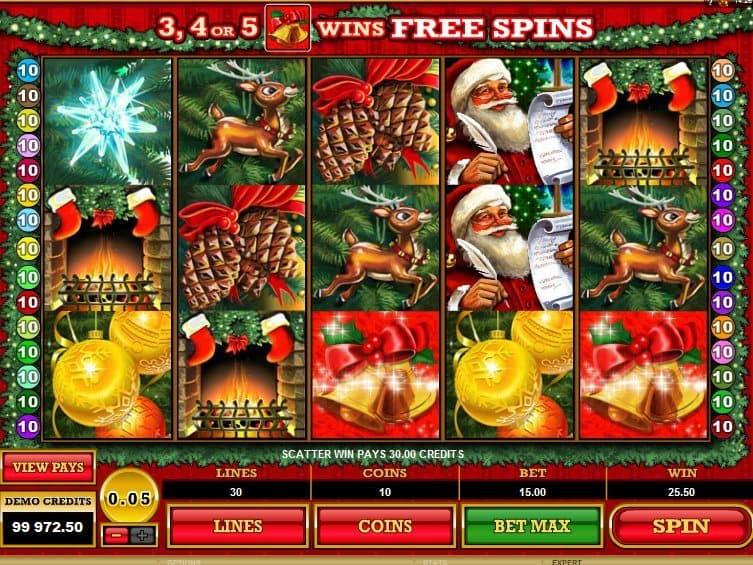 Play online free slot Deck the Halls
