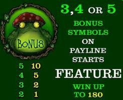 Picture of bonus symbol of online slot machine Enchanted Woods
