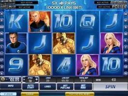 Play free online slot for fun Fantastic Four
