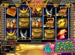 Online casino slot Genie´s Fortune