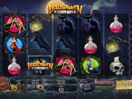 Halloween Fortune free online game slot machine