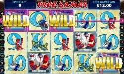 ice hockey free slot machine