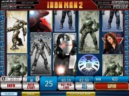Casino game slot Iron Man 2 free online