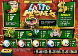 Lotto Madness free online slot no deposit
