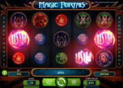 Picture from game Magic Portals free online